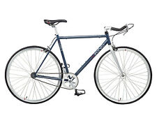 2015 Viking Track Single Speed Fixie Fixed Gear Bike Grey RRP £299.99