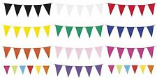10m Giant BUNTING - Assorted Colours (Pennant/Banner/Party/Wedding/Decoration)