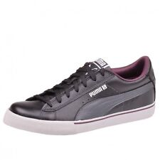Puma S Low Perf Sneaker Black-dark shadow-winetasting Schwarz 35414901