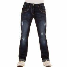 LUXUS NEU DESIGNER HERREN rh5u REGULAR FIT DESTROYEDJEANS Blau 0€