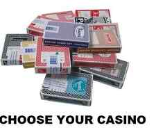 LAS VEGAS CASINO PLAYING CARDS - 30+ TO CHOOSE FROM ALL POPULAR CASINOS