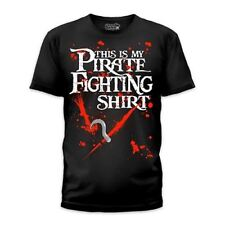 Goodie Two Sleeves Men-Shirt PIRATE FIGHTING T black