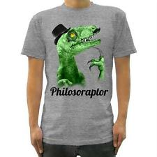 Goodie Two Sleeves Men-Shirt PHILOSORAPTOR grey