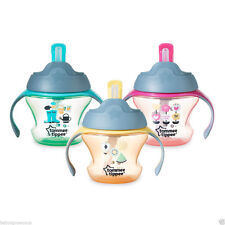 TOMMEE TIPPEE WEANING STRAW CUP 6M+ BOYS AND GIRLS COLOURS  BPA FREE