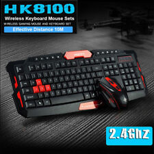 2.4GHz CityForm HK8100 Wireless Multimedia Gaming Keyboard & 6 Buttons Mouse Set