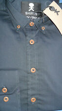 SuperEgo Casual 'Blue Night' Shirt Contrast details/Buttondown Collar RRP £39.95