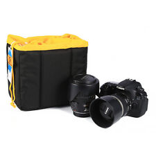 Shockproof Padded Foldable Partition Camera Insert Protective Bag Case for Nikon