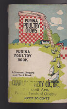 Purina Poultry Chows 1922 Booklet Purina Poultry Book