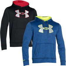 Under Armour 2016 Mens Storm Armour Fleece Big Logo Hoody Pullover Hooded Top
