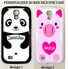 CUTE GIFT BABY PANDA PINK PIG CUSTOM PHONE Case For Samsung Galaxy S7 S6 NOTE 5