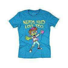 Goodie Two Sleeves Shirt ZOMBIE NERDS TEE turquoise