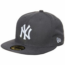 New Era 59FIFTY MLB Basic New York Yankees Cap Grau NEU