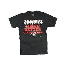 Goodie Two Sleeves Men-Shirt ZOMBIES GIRLFRIEND black