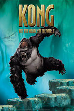 King Kong - Jungle Jump - Film Movie Kino - Poster Druck - Größe 61x91,5 cm