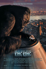 King Kong Empire State Building Film Movie Kino - Poster Druck - Größe 61x91,5