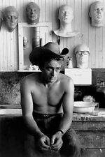 James Dean - Cowboy Topless Film Movie Kino - Poster Druck - Größe 61x91,5 cm