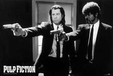 Pulp Fiction - Guns - Film Movie Kino - Poster Druck - Größe 91,5x61 cm