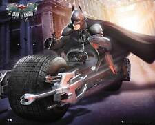 Batman - Bike - The Dark Knight Rises - Bike Film Kino Mini Poster Plakat Druck