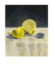 Rankin, Alison Cut Lemon With Spoon Zitrone Kunstdruck