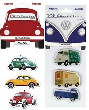 VW Beetle & VW Camper Fridge Magnets-Volkswagen Collection by Brisa