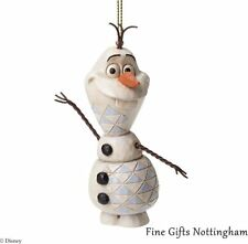 Disney Frozen Hanging Ornaments Olaf the Snowman, Anna & Elsa-Disney Traditions