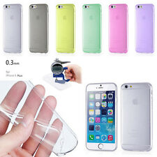 """New 0.3mm Ultra Thin Slim Clear Matte Back Case Cover For iPhone 6 4.7"""""""