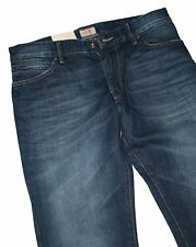 Hugo Boss 50238735 Bright Blue Denim Orange 24 Barcelona Box Regular Fit Jeans