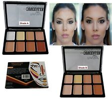 15 Colors Concealer Palette kit Wooden Brush Face Makeup Contour Cream, CL2