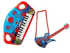 Spiderman Electronic Keyboard Piano Acoustic Electronic Guitar Musical OFFICIAL