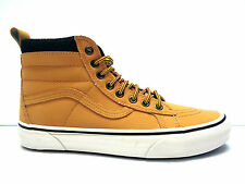 Vans shoes scarpe casual unisex sneakers alte stringate in eco-pelle col. Giallo