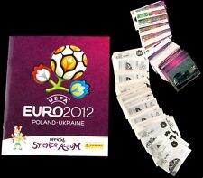 Panini Euro 2012 12 Football Stickers - Choose from 5 to 50 - ALL IN STOCK