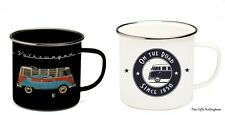 VW Camper Enamel Mugs - Volkswagen Collection by Brisa 4 Styles