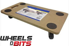 NEW HOME MOVE TROLLEY SYSTEM HEAVY FURNITURE AID HELPER 4 WHEEL ROLLERS MOVER