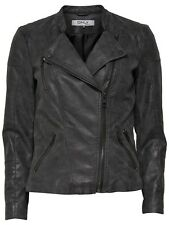 Only Damen Jacke 15102997 onlAVA FAUX LEATHER BIKER OTW NOOS