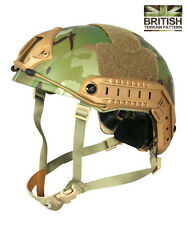 Army Combat Military Fast British Assault M88 Helmet Camo Replica New