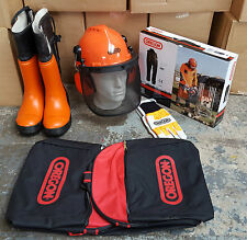 Brand New | Oregon Forestry Safety Kit | Gloves, Trousers, Helmet, Boots & Bag