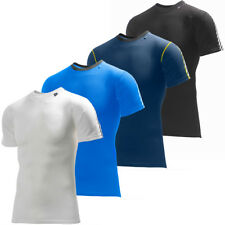 Helly Hansen Mens HH Dry Stripe T Shirt Tech Gym Training Base Layer Tee