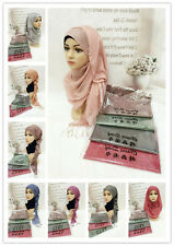 New Style Muslim Ladies Long Scarf Islamic Headwear Hijab Arab Shawls