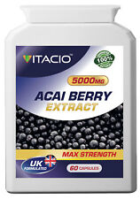 Acai berry Extract 5000mg Antioxidant Weight Loss Diet Slimming Pills