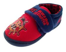 Boys Jake And The Neverland Pirates Slippers Mules Shoes Xmas Boots Kids Size