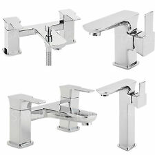 SAGITTARIUS GRAMERCY BATHROOM TAPS CHROME MIXER BASIN BATH SHOWER SINK LEVER NEW