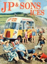 New JP & Sons Ices Kevin Walsh Metal Tin Sign