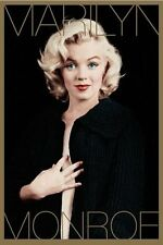 New Marilyn Monroe: Black and Gold Marilyn Monroe Poster