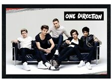 New Black Wooden Framed One Direction Story Of My Life Poster