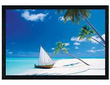 Black Wooden Framed Paradise Found Maxi Poster 91.5x61cm