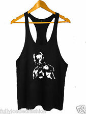 Bodybuilding Stringer Tank Top GYM Y-Back Gym VEST MMA Fighting Vest Wear 3