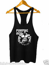 Bodybuilding Stringer Tank Top GYM Y-Back Gym Pumping Iron Vest Fighting Wear