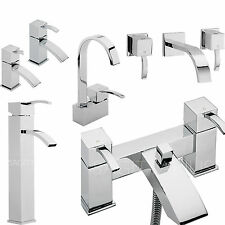 SAGITTARIUS ARKE BATHROOM TAPS CHROME MIXER BASIN BATH SHOWER FILLER SINK LEVER