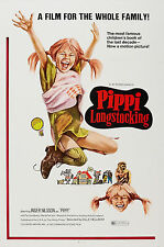 Affiche Poster PIPPI LONGSTOCKING Film Classique Familial 1969 Taille A1A2A3A4