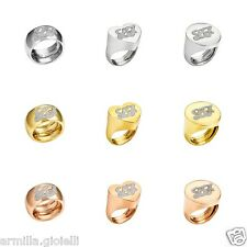 ANELLO LIU JO LUXURY DESTINI DONNA TRENDY Silver Argento Oro Gold Rose Rosa AG
